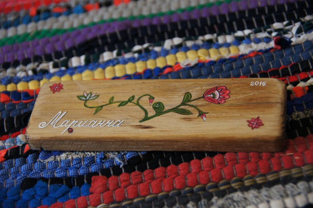 подарок, цветы, цветы на доске, оформление подарка, своими руками