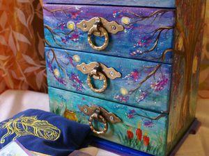 Комодик для хранения магических атрибутов и карт Таро | Ярмарка Мастеров - ручная работа, handmade