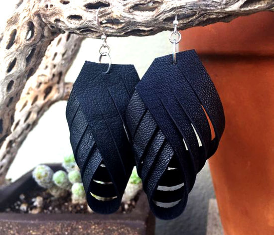 30 Simple Ideas for Design of Handmade Leather Jewelry, фото № 14