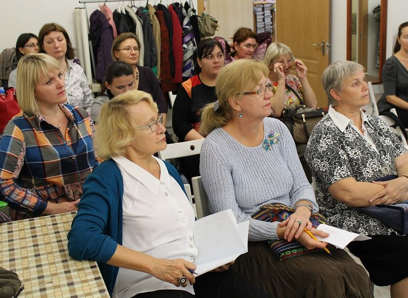 Фотоотчет с первых посиделок клуба -PRO-шитье 12 октября, фото № 1