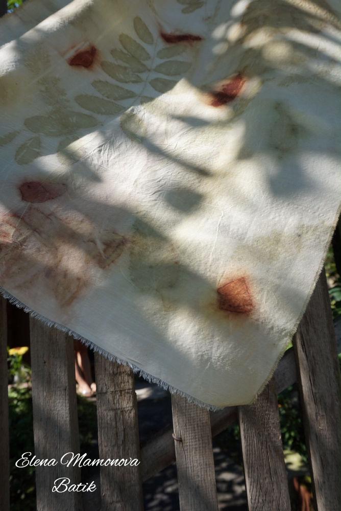 шелк с шерстью, палантины шарфы