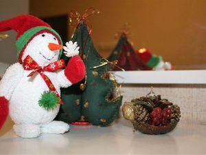 Мастер-класс: шьем текстильную интерьерную игрушку «Снеговик». Ярмарка Мастеров - ручная работа, handmade.