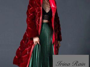 Шуба, дубленка+ кожаная юбка в подарок!!. Ярмарка Мастеров - ручная работа, handmade.