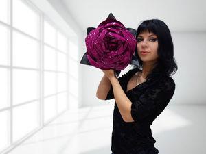 Розыгрыш сумки-розы среди подписчиков цветника | Ярмарка Мастеров - ручная работа, handmade