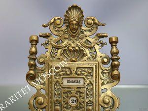 РАРИТЕТИЩЕ Календарь антикварный ангел бронза 1. Ярмарка Мастеров - ручная работа, handmade.