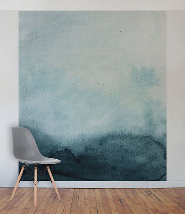 The Tenderest Interior: Abstract Watercolours on Modern Wallpapers, фото № 9