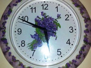 Мастер-класс: декорирование часов. Ярмарка Мастеров - ручная работа, handmade.