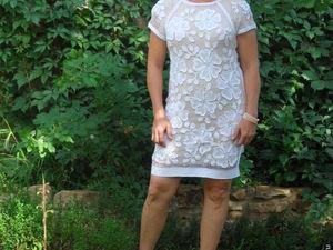 Акция.15 % скидка на летнее коктельное платье в ирландском стиле. Ярмарка Мастеров - ручная работа, handmade.