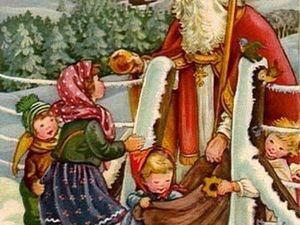 Предновогодний календарь. 6 декабря - день Святого Николая. Подарки всем!!!. Ярмарка Мастеров - ручная работа, handmade.