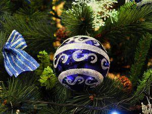 Роспись новогодней игрушки | Ярмарка Мастеров - ручная работа, handmade