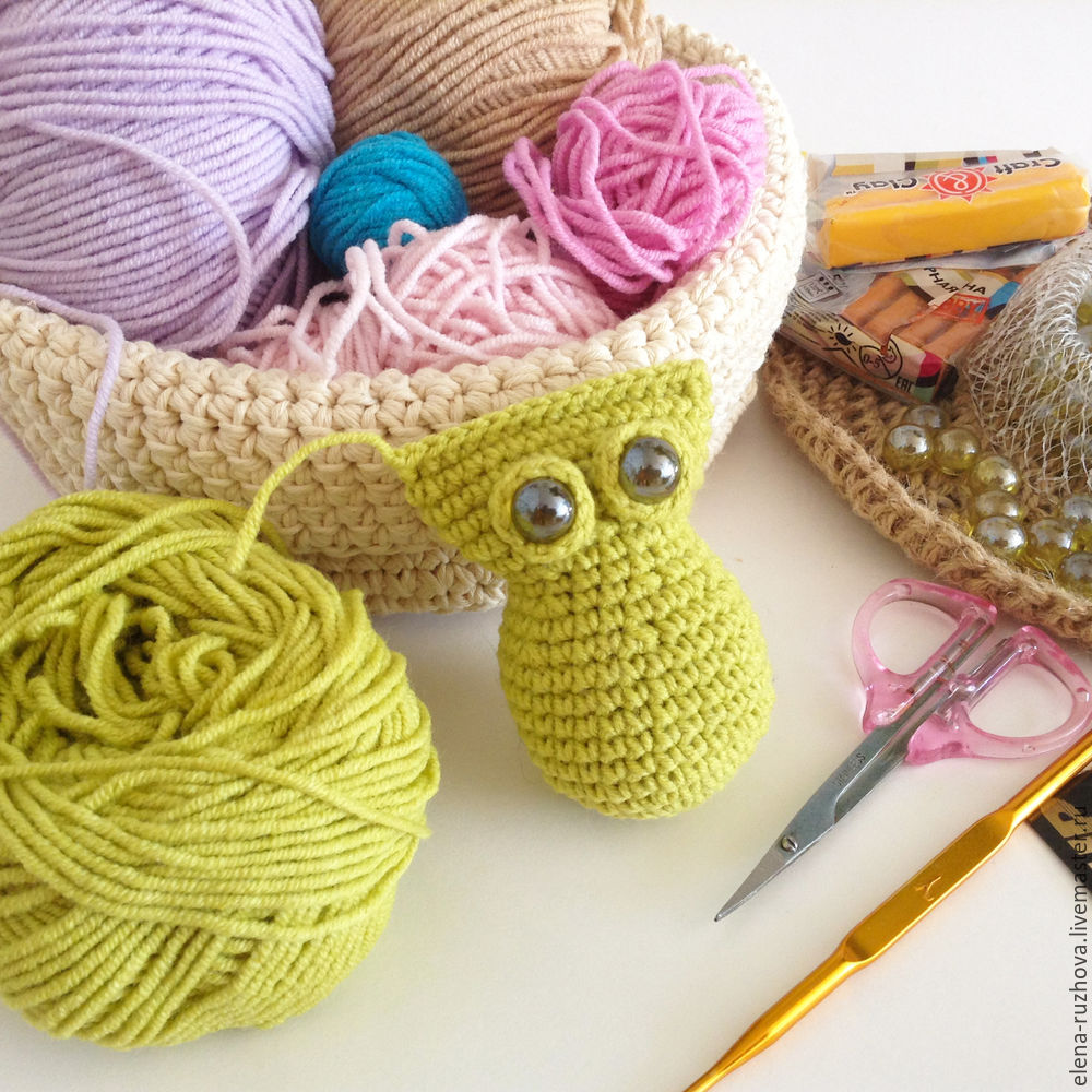 Crocheting a Charming Little Owlet with Tassels on Ears, фото № 6