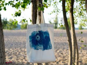 Сумка с фотографией и река Волга. Ярмарка Мастеров - ручная работа, handmade.
