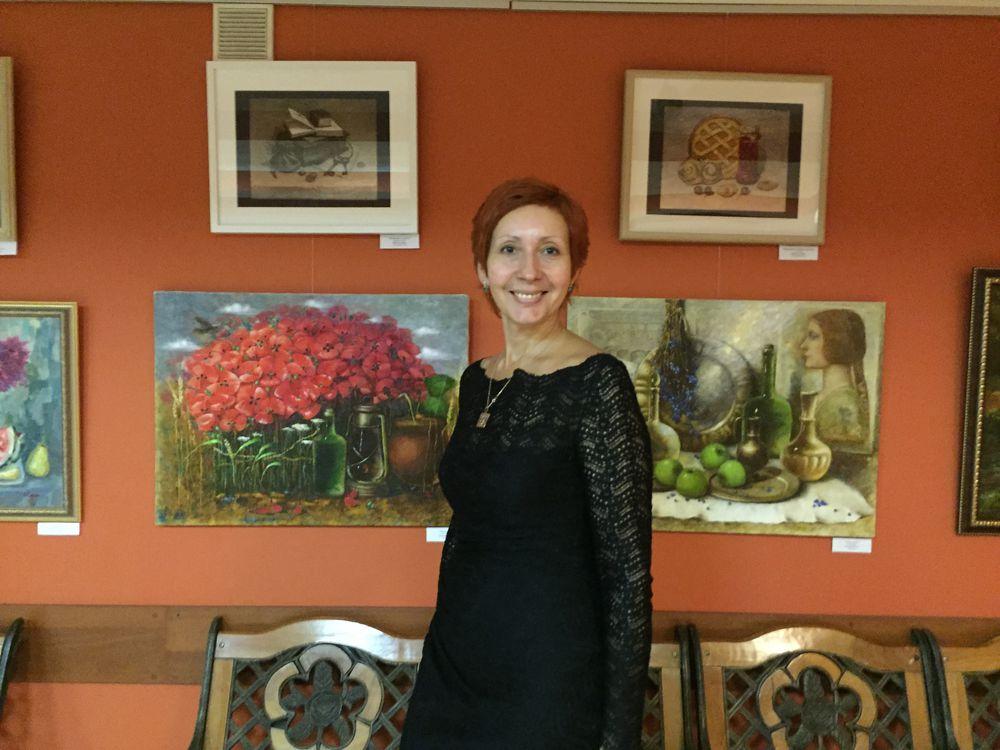 выставка в москве, художники, пейзаж маслом, продажа картин