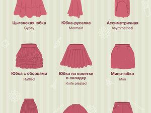 Фасоны юбок: гид от Ярмарки Мастеров. Ярмарка Мастеров - ручная работа, handmade.