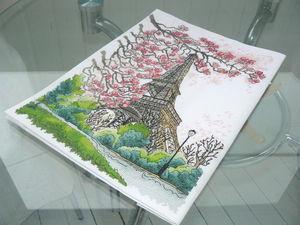 """Весна в Париже"". Ярмарка Мастеров - ручная работа, handmade."