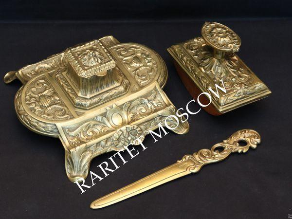 Антикварная чернильница нож бронза Франция 7 | Ярмарка Мастеров - ручная работа, handmade