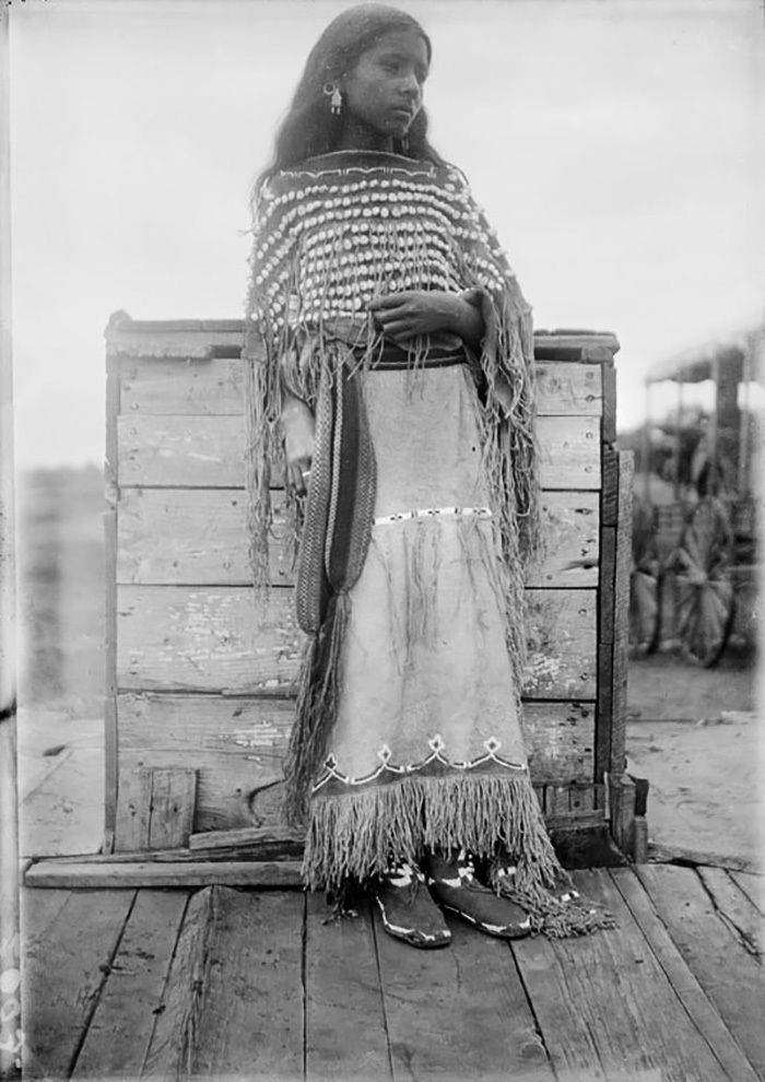 What the Indigenous Women of North America Looked Like: Vintage Photos of Indian Girls, фото № 11