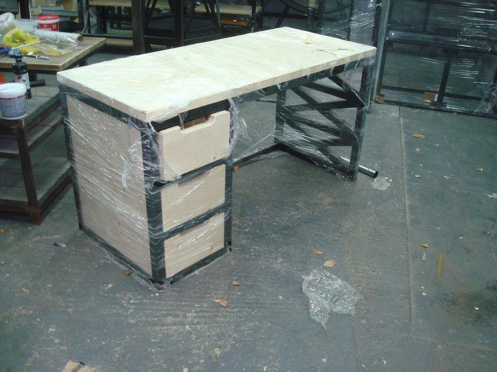 стол, индустриальный стиль, стол в стиле лофт, металлическая мебель, loft, стол на заказ, купить стол