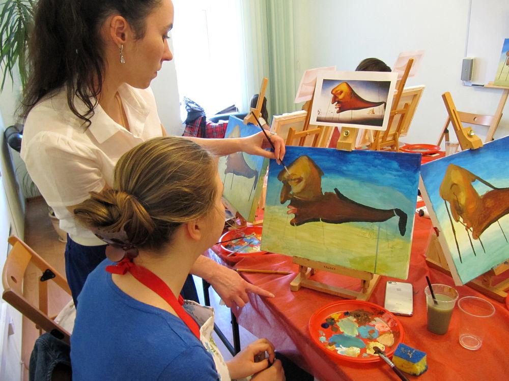 мастер-класс по живописи, биография художника