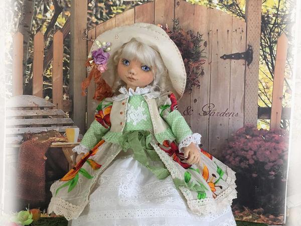 Коллекционная текстильная кукла.   Ярмарка Мастеров - ручная работа, handmade