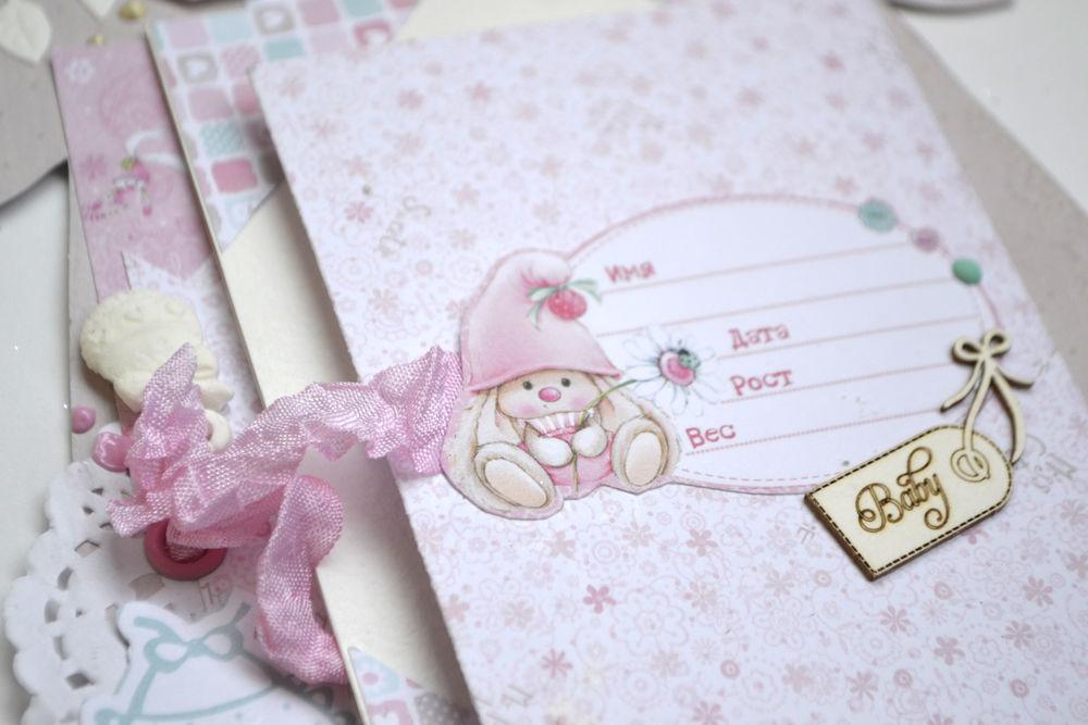 альбом для девочки, подарок малышу