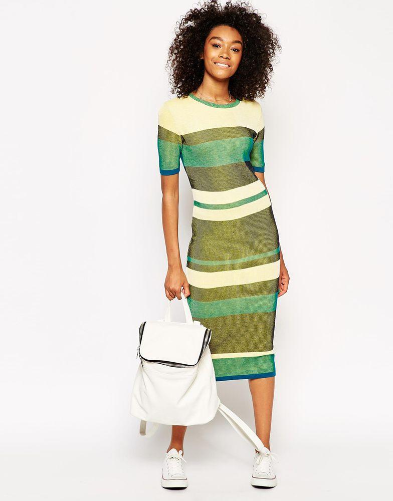 трикотажное платье, обтягивающее платье