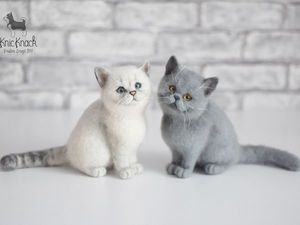 Портретные коты Британцы. Ярмарка Мастеров - ручная работа, handmade.