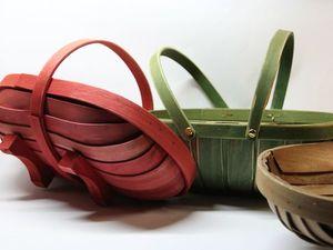 Новые модели корзин. Лукошко. Всего 3 шт. Ярмарка Мастеров - ручная работа, handmade.