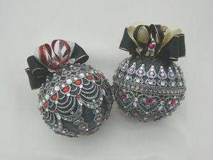 Шары новогодние. Королевская готика. Ярмарка Мастеров - ручная работа, handmade.
