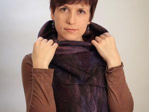 Жилет-трансформер или шарф-бактус на выбор. | Ярмарка Мастеров - ручная работа, handmade