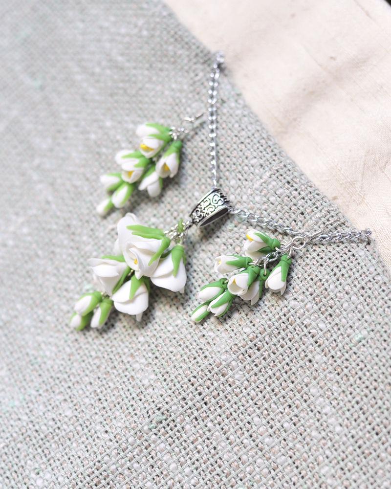 жасмин, ожерелье из цветов