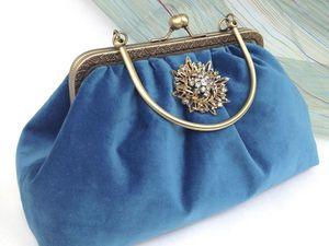 "Скидка дня! 20% на бархатную сумочку ""Звезда""!. Ярмарка Мастеров - ручная работа, handmade."
