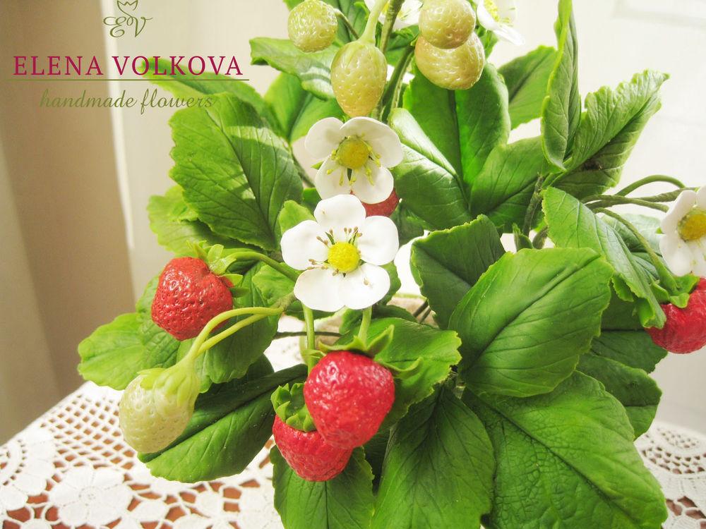 ягоды полимерная глина