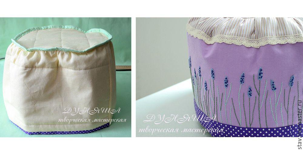 лаванда, текстиль для дома
