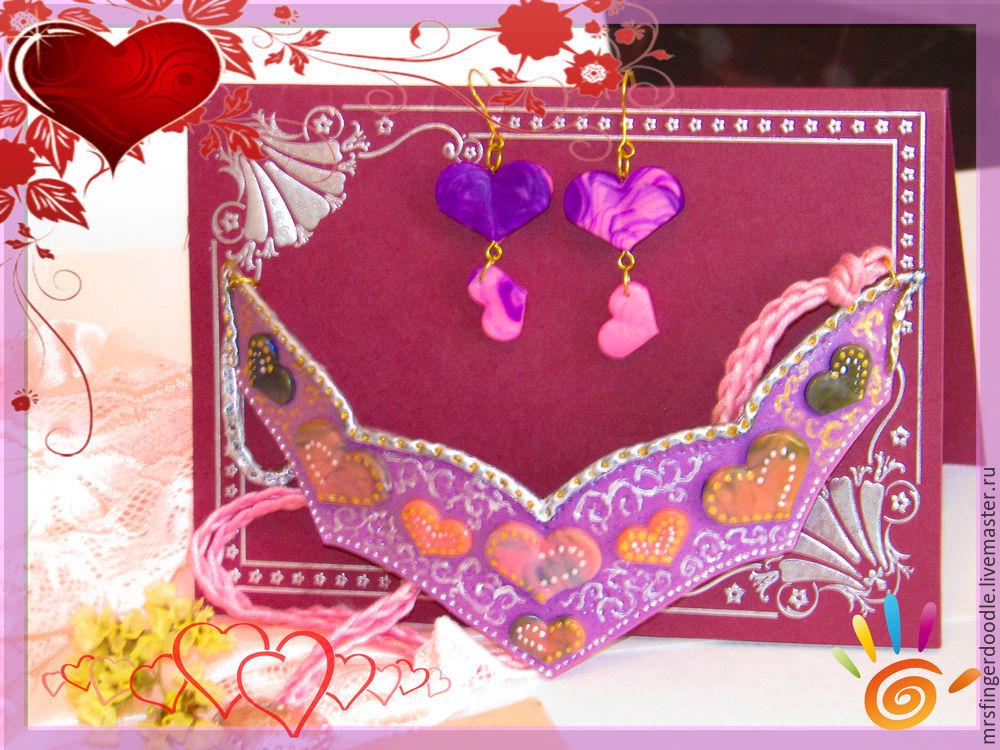 украшения, день святого валентина, подарок