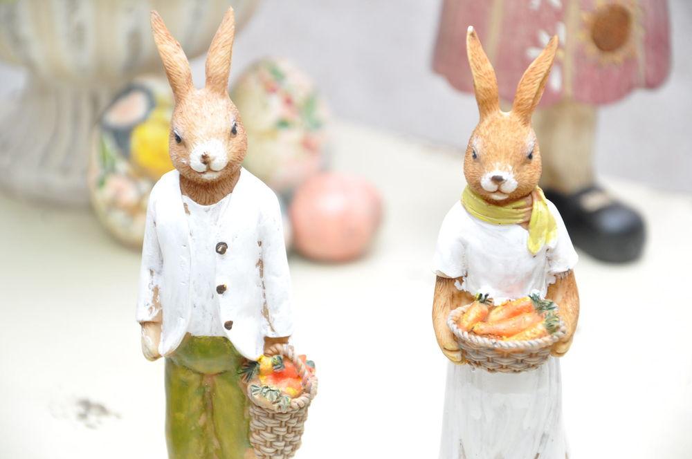 пасха, пасха 2017, декор интерьера, зайцы