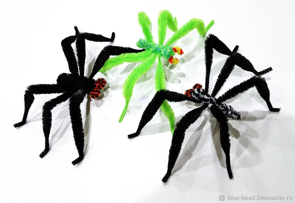 Сделать паука своими руками