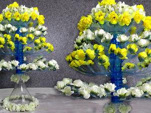 Мастерим цветущее дерево из пластиковых бутылок: видео мастер-класс. Ярмарка Мастеров - ручная работа, handmade.