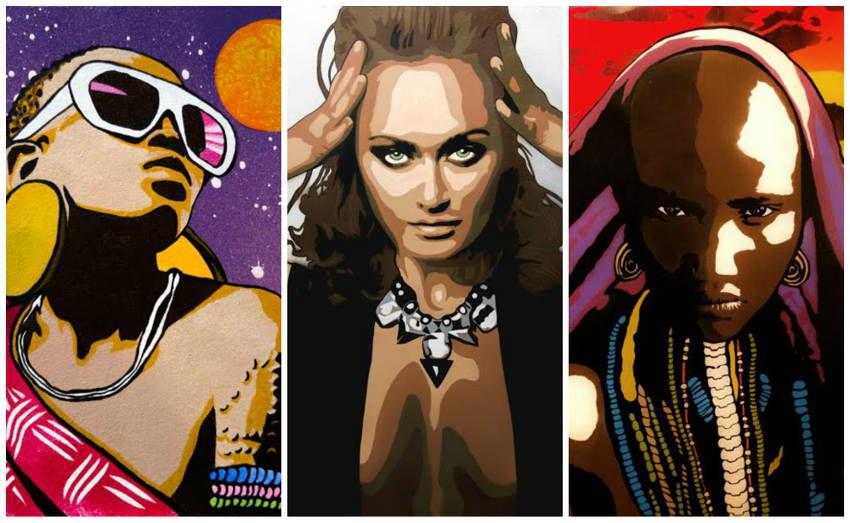 графика, обечение, арт-студия, студия, арт-студия в москве, москва, обучение в москве, рисование, обучение рисованию, рисунок, поп-арт, портрет, трафарет