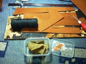 Кожаный рюкзак. Часть 2. Ярмарка Мастеров - ручная работа, handmade.
