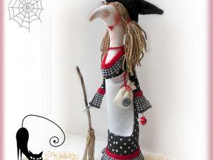 Новая работа Ведьмочка !. Ярмарка Мастеров - ручная работа, handmade.