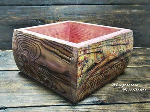 Все о тонировке брашированной поверхности | Ярмарка Мастеров - ручная работа, handmade