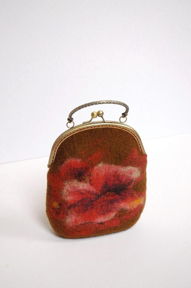 наталья сафонова, валяная сумка