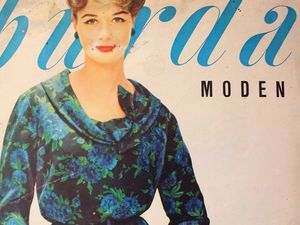 Burda moden 1/1958 Бурда Моден. Ярмарка Мастеров - ручная работа, handmade.