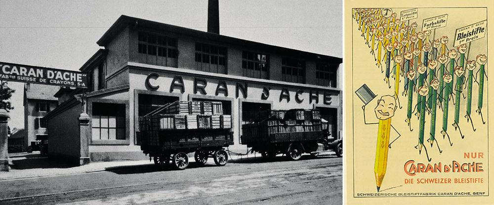 Caran d'Ache — художник, бренд, клоун