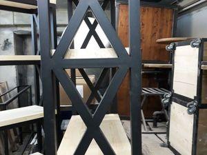 Перекрестье в мебели лофт.. Ярмарка Мастеров - ручная работа, handmade.