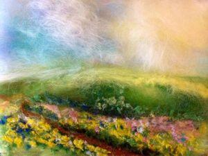 Шерстяная живопись - Картина из шерсти на выбор!! | Ярмарка Мастеров - ручная работа, handmade