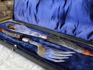 Дополнительные фотографии антикварного комплекта. Ярмарка Мастеров - ручная работа, handmade.