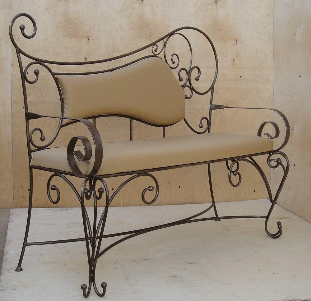 диванчик, подарок на новоселье, кованная мебель, в салон красоты