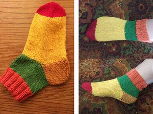 Зимние носки. Конкурс «Зимний вальс»:. Ярмарка Мастеров - ручная работа, handmade.